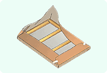STEP1 茶紙(クラフト紙)を巻く